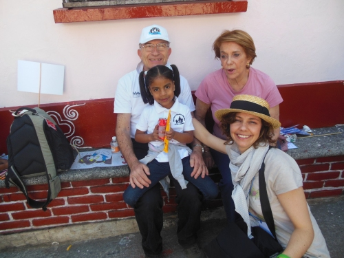 267. Cuernavaca, NPH HIgh School, Paola, Enzo, Anna e GUadalupe!! 17.02.2014